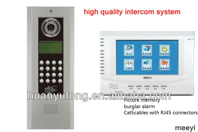 multi apartment video intercom system buy video intercom