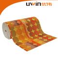 De espuma de pvc impresa esteras/alfombrillas rectángulo, de plástico de la alfombra del piso lavable esteras/alfombrillas