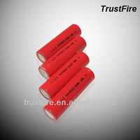 trustfire lithium battery IMR18650 for LED flashlight/toy car/ cheap E-cig mod and toy bear