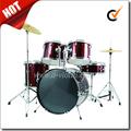 5 pc copertura in pvc jazz drum set per adulti( dset- 210b)