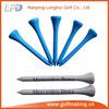 54mm buy wood golf tees blue