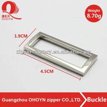 square metal buckle nickel buckle hardware bag accessory