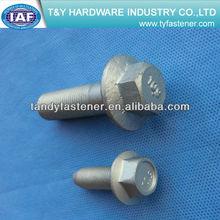hot galvanized flange bolt steel high quality