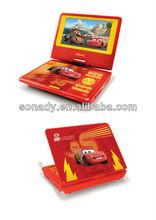 """Cheap 9"""" car headrest mount portable dvd player"""
