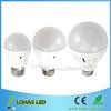 3Watts/5Watts/7Watts smd 5730 chip E27/E14/B22 led bulb huizhuo lighting