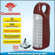 Cr-1067c ac dc operato 30 led importatori luce rohs ce cb saso