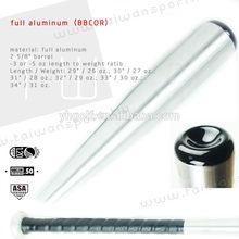 OEM Full Aluminum baseball bats BBCOR BATS /customized design bats