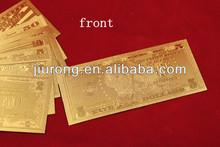 gold banknote dollar 5