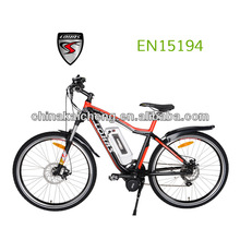 "Flyer 26"" big power electric cargo bicycle 24V/36V/250W li-ion battery with CE certification"