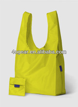 Promotion colorful nylon folding shopping bag
