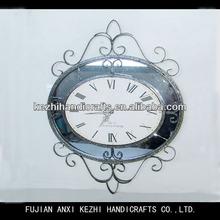 antique metal decorative wall clock