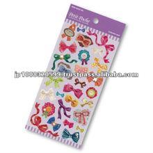 Petit Poche Sticker Ribbon _ decorative ribbon _ sitcker printing _ stationery item _ handmade _ japanese sticker