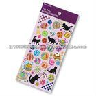 Petit Poche Sticker Cat _ cat pictures to print _ sitcker printing _ stationery item _ handmade _ japanese sticker