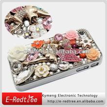 Luxury trendy rhinestone diamond jeweled cell phone cover