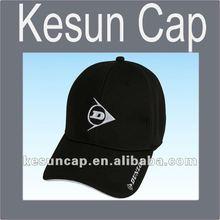 2012 promotional black mesh fabric baseball cap