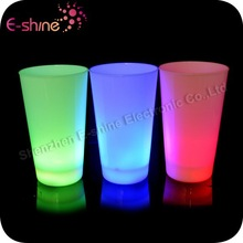 2014 New Multi-color Flashing Led Glow Cups