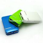 Portable phone charger 7800mah power bank dual usb