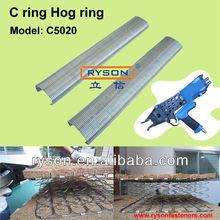 New Gabion Fixing C-Ring flat wire staples