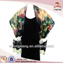 2-Ply Digital Printing Large Pashimina Shawl Wrap