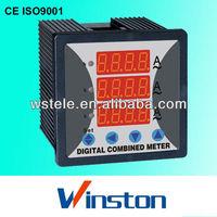 WST-294Z 3-phase led display Digital Ampere meter,aux.power supply: AC220V