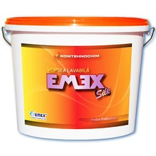 Enameled EMEX SILK emulsion paint