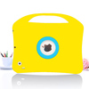 2014 hot products silicone rubber kids tablet case for ipad mini with one handle