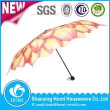 Sun Flower Umbrella Companies/Foldable Promotion Umbrella