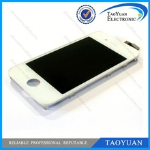 2013 Hot sale for iphone 4 i4 lcd fix cracked screen accept paypal