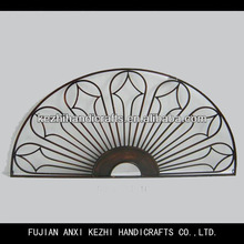 half round home decor metal wall art