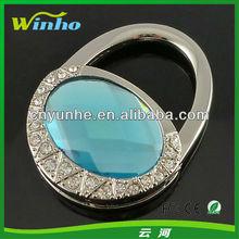 Oval Folding Diamond Bag Hook
