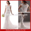 Wd-1780 cap manga vestido de renda casamento celta 2014 vestidos de noiva