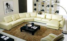 Luxury size circle living room sofa half round French designer round sofa 9049-1