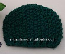 lady crochet winter hat