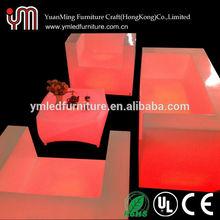 2014 LED Modern Design Furniture Color Changing Hot Sale Led Furniture