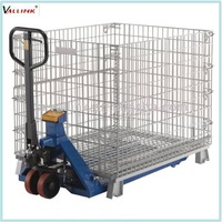Storage Wire Mesh Container Steel Pallet Box Container