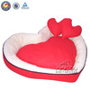 2014 New Design Heart Shaped Red Cat Bed/Comfortable Lovely Pet Beds
