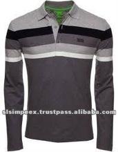 Long Sleeve Polo Men's t- Shirts