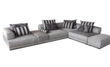 Yuqi modern design fabric sofa with low price sofas,light grey and nylon cover sofa set furniture 8051-1
