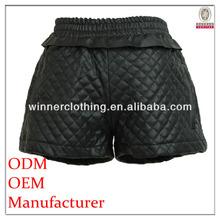 2014 winter fancy black girls in short shorts