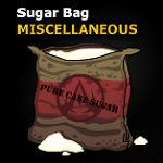 Refined whitre sugar
