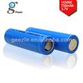 14500 3.7v 750 mah icr geezle bateria li-ion recarregável bateria de lítio recarregável