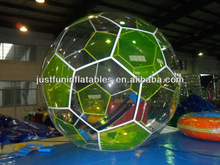 amazing football model walking inflatable water ball
