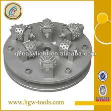 Diamond Rotary Bush Hammer Grinding Wheel for Litchi Surface
