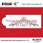 Lace cake stencil,cake lace side stencil,most popular fondant tools