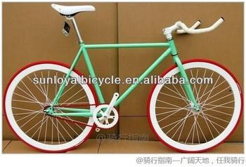 700C Fixed Gear Bike Indoor Racing Bike SL-RC26016 Road Bike