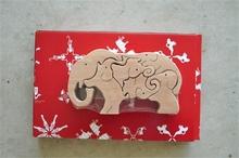 3D elephant puzzle