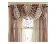 2014 new design modern curtains for living room valance curtains