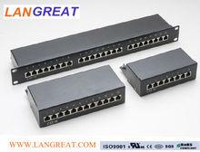 cat5e 1u patch panel 8port/16 port/24 port STP/FTP /kat.5e