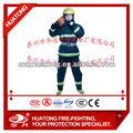nomex iiia retardante de llama de seguridad de lucha contra incendios ropa