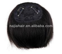 5A Remy Brazil super head Bang Hair Piece
